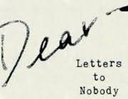 Letters to Nobody